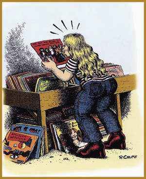 Robert Crumb - Record Collector