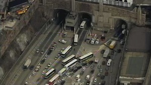 Lincoln Tunnel Traffic