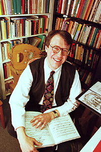 Philip V. Bohlman, ethno-musicologist and writer of numerous books on music around world.