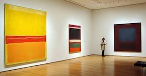 Rothko paintings at MOMA
